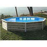 water' Clip–20122–Piscina octogonal de madera 4,60x 4,60x 0,76m Basilan