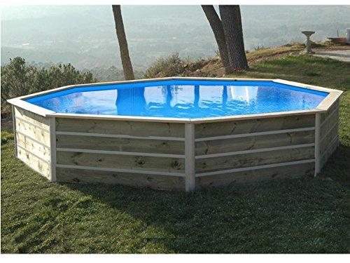 water' Clip–20122–Pool achteckig Holz 4,60x 4,60x 0,76m Basilan