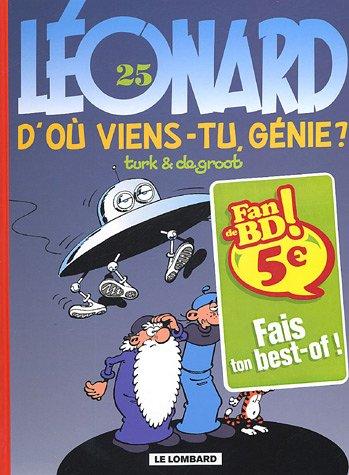 Léonard, tome 25 : D'où viens-tu génie ?