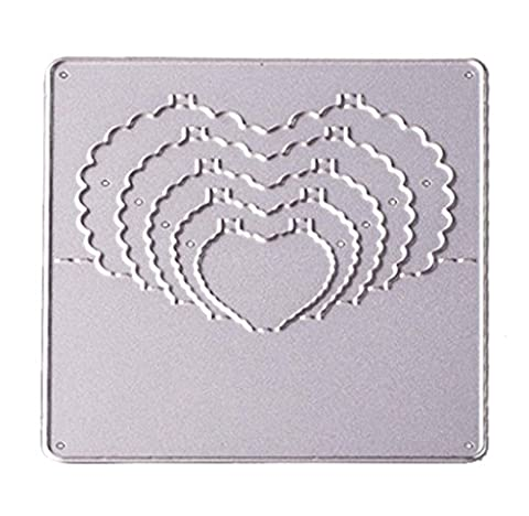 Malloom 2017 New DIY Craft Flower/Heart/Star Metal Cutting Dies stamper Stencils For Scrapbooking Album Paper Card