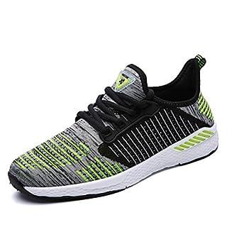 unisex Sportschuhe Atmungsaktives Mesh Wander Belüftung Trekking Wanderhalbschuhe Sneakers Outdoorschuhe Casual Schuhe Sommerschuhe, 45 EU, Farbe: Grün