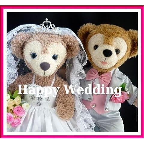 Duffy Wedding gorgeous pure white wedding dress and silver dress coat set No.21 (japan import)