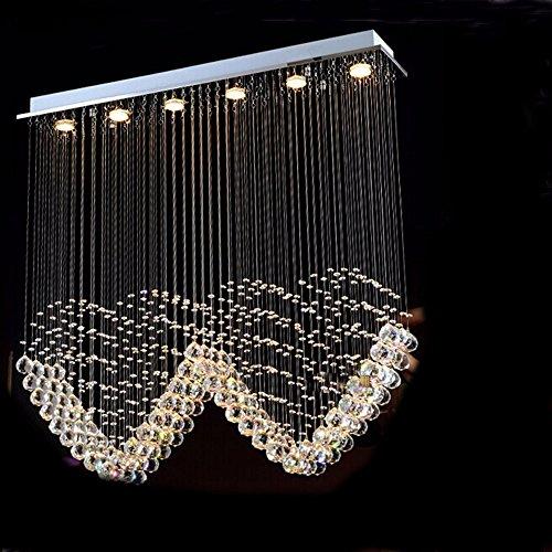 YFF@ILU Restaurant, Veranda, Trennwände, crystal Vorhang leuchten kreative Led, herzförmigen Kristall Kronleuchter, EIN