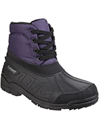 Cotswold Womens/Ladies Leoni Lace Up Rubber Upper Canadian Snow Boots