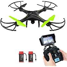 Drone avec caméra HD, Potensic® U42W 4Ghz RC Drone RTF Hauteur-fixepour Photographie aérienne UFO avec 0.3MP caméra WiFi HD Camera