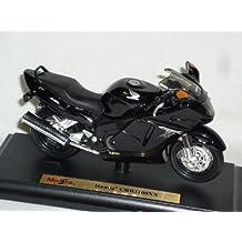 Honda Cbr1100xx Cbr1100 Cbr 1100 Xx 1100xx Schwarz Mit Sockel 1/18 Maisto Modellmotorrad Modell Motorrad