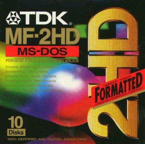 TDK 3.5in DS/HD Floppy Discs (T06050) Test