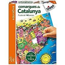 Diset 69706 - Comarques De Catalunya