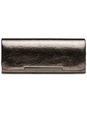 CASPAR TA346 Damen elegante Glamour Clutch Tasche / Abendtasche