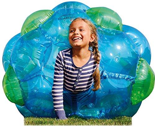 Preisvergleich Produktbild infactory Aufblasbarer Roll-Ball für Kinder, 125 cm Durchmesser