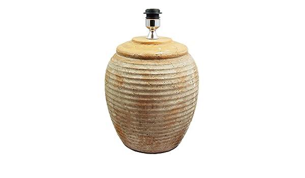 Ditchling large terracotta lamp base: Amazon.co.uk: Lighting