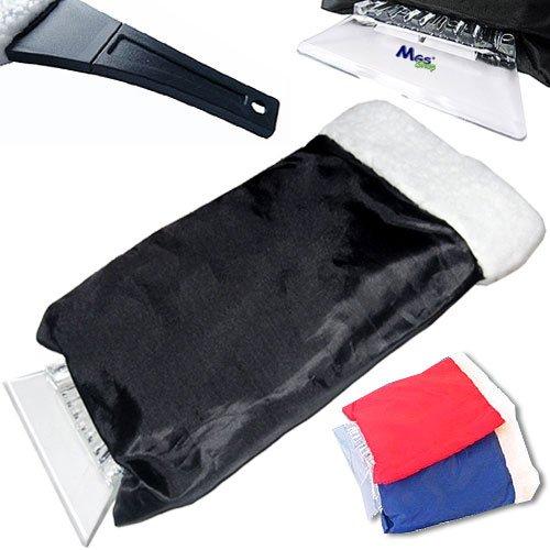 Preisvergleich Produktbild MGS SHOP Stabiler Eiskratzer mit gefüttertem XXL- Handschuh Länge 24 Breite: 16 cm - auch groß genug für Männer!! (blau)