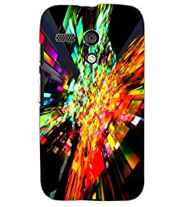 MOTOROLA MOTO G ILLUSSION Back Cover by PRINTSWAG