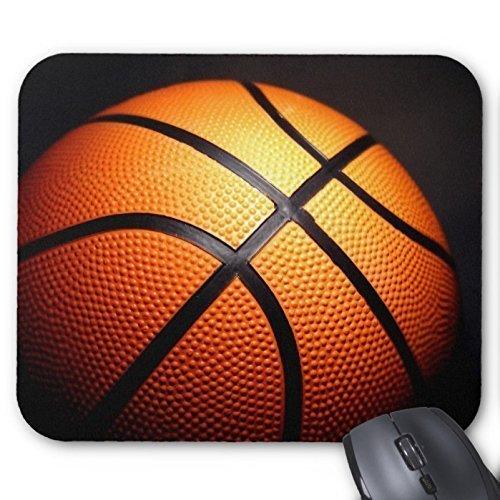 Personalisierte Basketball Mauspad Mousepad Unterstützung für Wireless Mouse optische Maus Haltbare Büro Accessoire und Geschenk