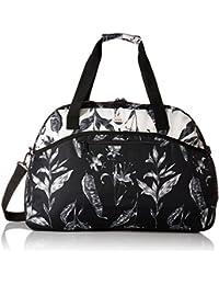 Roxy Junior's Too Far Duffle Bag, ANTHRACITE LOVE LETTER ERJBL03101, 1SZ