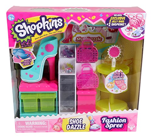 Giochi Preziosi 70560341 - Serie Shopkins negozio di scarpe 3 Moda Playset