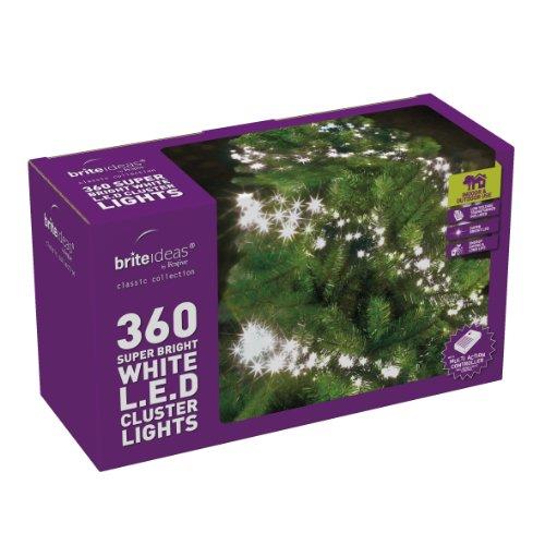 Brite Ideas LED-Lichter, 360 Stk, warm-weiß weiß -