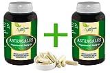 """Vegan""""MEGA-SPAR-POT"""" Astragalus Wurzel 2x360 pflanzliche Kapseln je 500 mg. rein"""