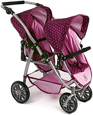 Bayer Chic 200068929–Carrito para muñeca, color morado/lila