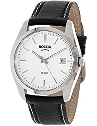 Boccia Herren-Armbanduhr 3608-01