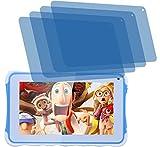 4x Crystal clear klar Schutzfolie für Excelvan Kinder Tablet 7 Zoll Premium Displayschutzfolie Bildschirmschutzfolie Schutzhülle Displayschutz Displayfolie Folie