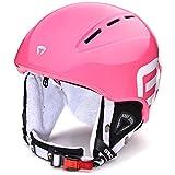 Briko Kodiakino, Casco da Ski Uomo, 939P002/Pink/Explosion, Taglia Unica