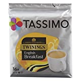Tassimo Twinings English Breakfast Tee, 16 T-Discs