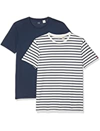 Levi's Slim 2 Pack Crew Tee, T-Shirt Homme