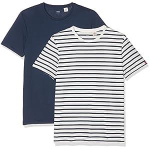 Levi's Slim 2 Pack Crew Tee – Camiseta para Hombre