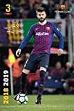 FC Barcelona Poster 2018/2019 Pique Action