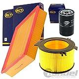 Filterset Inspektionspaket 1 Filter, Innenraumluft 1 Ölfilter 1 Luftfilter