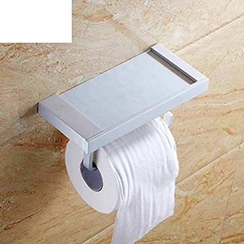 Cuarto de baño toallero/Titular de papel higiénico/caja de pañuelos/caja de papel higiénico/estante del teléfono/bandeja de la mano