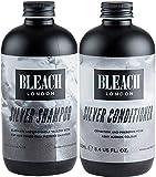 Bleach London Silver Shampoo x 250ml & Bleach London Silver Conditioner x 250ml by Bleach London
