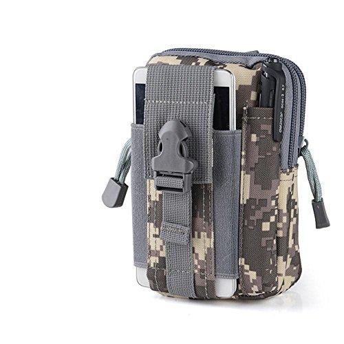 90Punkte Mehrzweck-Military Tactical Taille Tasche, Military Drop Bein Tasche für Outdoor-Aktivitäten APU Camouflage