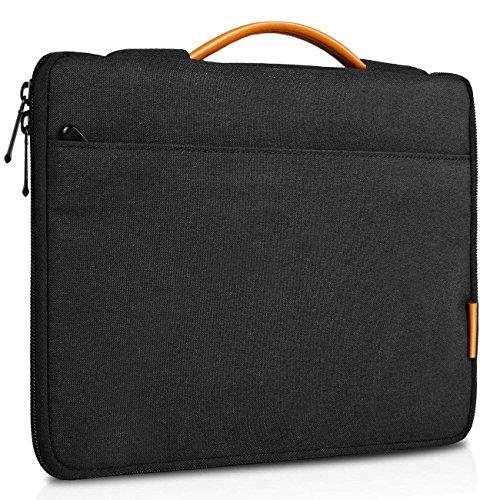 Inateck Hülle Tasche Kompatibel mit Microsoft Surface Pro 6/Surface Pro 2017 und 12,3 Zoll Surface Pro 4/3, Schwarz