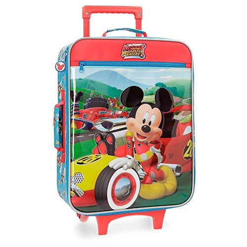 Disney Roadster Racers Valigia per bambini, 55 cm, 25 liters, Multicolore (Multicolor)