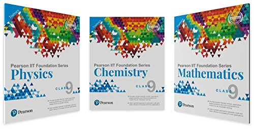 IIT Foundation Physics, Chemistry & Maths for Class 9 (Main Books)
