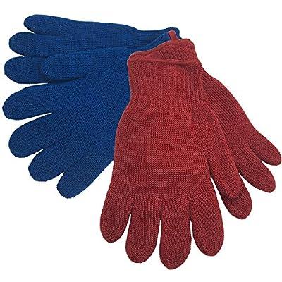 Grillhandschuhe aus Aramid 1 Paar Hitzeschutz-Handschuh bis 260 °C Schutz für die Hände gegen Hitzeeinwirkung Handschuhe für Grill Kamin Ofen Ofenhandschuhe