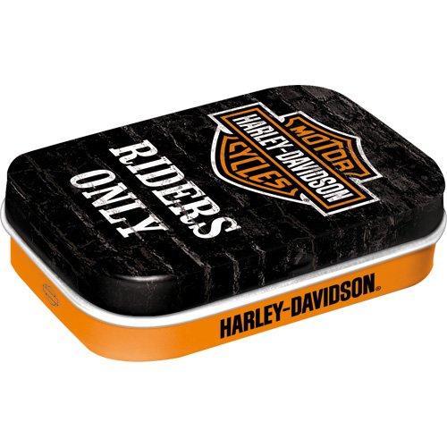 Nostalgic-Art 81345 Harley-Davidson - Riders Only, Pillendose