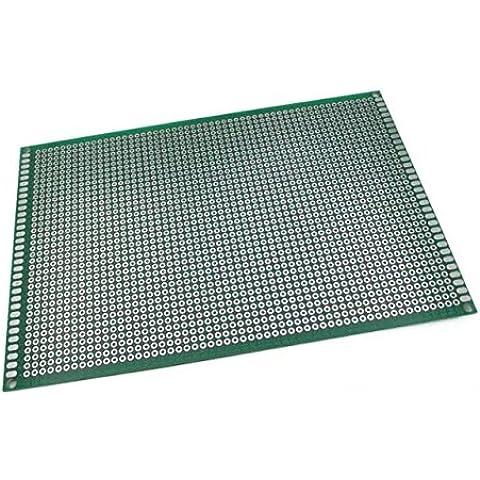 Goliton 1pc 15 * 10 cm de placa lateral doble de Cobre en el PCB Junta universal prototipo experimental para el desarrollo de
