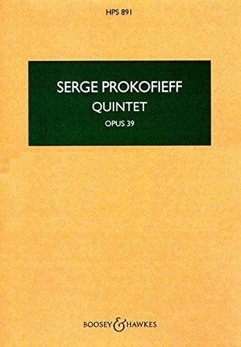 Quintet Op.39  Orchestre