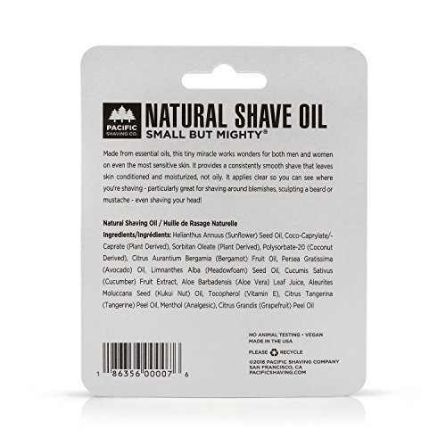 Pacific Shaving Company All Natural Shaving Oil - 0.5 oz