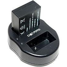 Dot.Foto Sigma BP-51 Batteria + USB Doppio Caricabatteria per Sigma dp0 Quattro, dp1 Quattro, dp2 Quattro