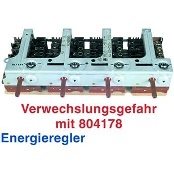 Bosch Siemens Energieregler Schalterblock YH36-1 für Herd 080537 Nr.