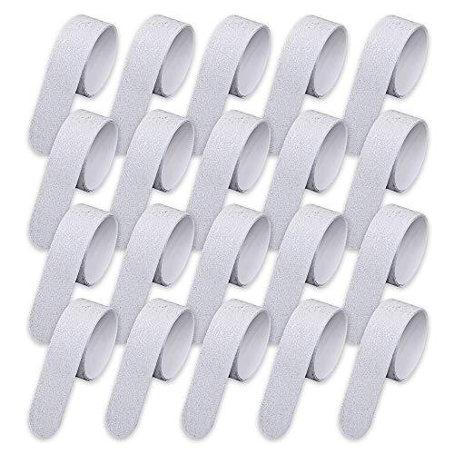 HAFTPLUS Anti-Rutsch-Streifen 20 Stück - Die Beste Alternative Zu Treppenmatten. Transparente Antirutsch-Aufkleber