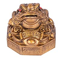 """According to Feng Shui beliefs, frog helps attract and protect wealth, and guards against bad luck. Because it symbolizes the flow of money, Feng Shui lore insists that a frog statue should not be positioned facing the main door (""""outward""""). It also ..."""
