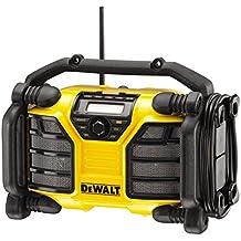 DeWalt DCR017 - Radio para obras, batería/cable, con función de carga, Li-Ion
