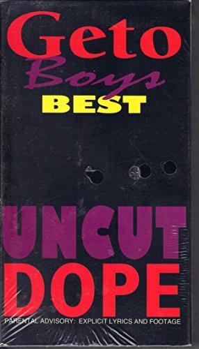 Geto Boys Best-Uncut Dope [VHS]