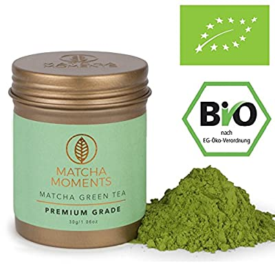 Thé Vert Matcha Qualité Supérieure Bio 30g (connu de la VOGUE) | Organic Premium Grade Matcha Tea | Matcha Thé Bio de Japon