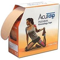 AcuTop Premium Kinesiology Tape, 5 cm x 17 cm, beige preisvergleich bei billige-tabletten.eu